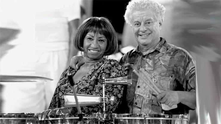 """Celia Cruz y Tito Puente también participaron junto en la película """"Los reyes del mambo"""". (Foto: Impactony.com)"""