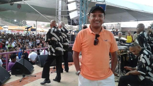 Nacho Leonarte en un concierto de El Gran Combo de Puerto Rico. (Foto: Facebook/Nacho Leonarte)