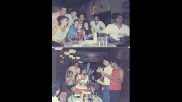 NG La Banda junto con sus colegas de la orquesta de Tommy Olivencia (Foto: Édgard Nevárez)