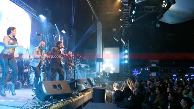 NG La Banda tuvo varios invitados durante su show en el centro de convenciones Barranco Arena. (Foto: Salserísimo Perú / Antonio Alvarez)