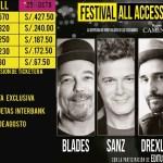 Este será el precio de las entradas para el show de Blades y Palmieri en Lima