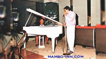 Héctor Lavoe cantando en el ensayo en Lima. (Foto: Mambo-Inn)