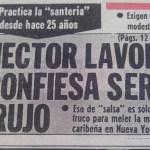 Héctor Lavoe en Perú: Así informaron los medios durante su estadía  [GALERÍA]