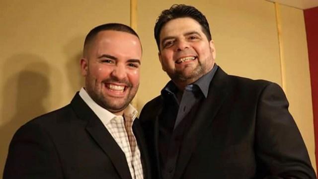 Josema Lugo junto a su padre, el respetado pianista José Lugo. (Foto: Cortesía Josema Lugo)