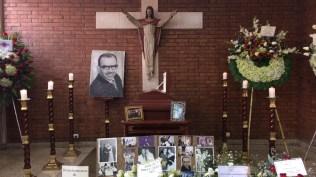 El velorio de Lucho Macedo se realizó en la parroquia Santa María Reina, en el distrito de San Isidro. (Foto: Antonio Alvarez F. / Salserisimo Perú)