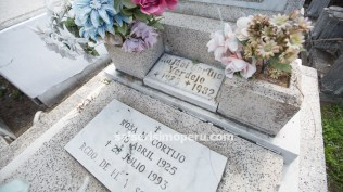 Esta es una de las tumbas que visitan frecuentemente los amantes de la salsa. (Foto: Antonio Alvarez F./Salserísimo Perú)