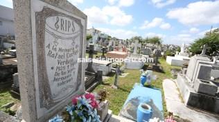 Aquí reposan los restos de Rafael Cortijo. (Foto: Antonio Alvarez F./Salserísimo Perú)