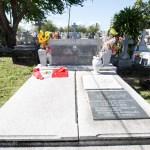La inesperada visita de La Toya Jackson a la tumba de Maelo