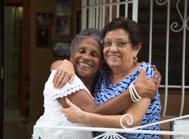 El histórico encuentro de las hermanas de Lavoe y Maelo