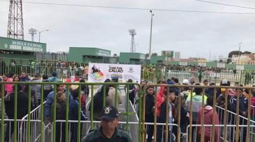 La venta de entradas se inició desde las 8 a.m. (Foto: Salserísimo Perú)
