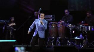 Ismael Miranda compuso un son durante su participación en el show. (Foto: Antonio Alvarez F./Salserísimo Perú)