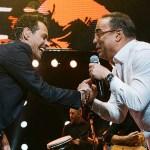 Marc Anthony confesó que Gilberto Santa Rosa es su ídolo
