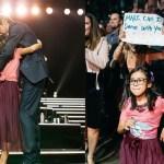 """""""Mamá, ya no puedo más"""": niña que logró bailar con Marc Anthony"""