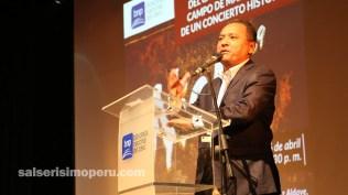 Nacho Leonarte habló de cómo trabajó Radiomar la promoción del show de Niche en Campo de Marte. (Foto: Fernando Olivera / Salserísimo Perú)