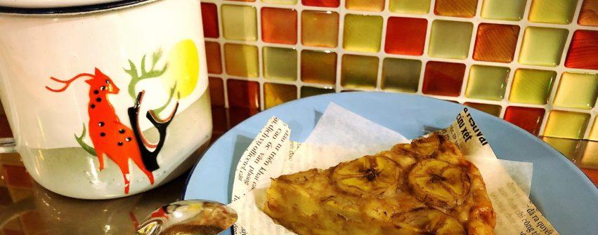 バナナケーキ bánh chuối nướng 始めます