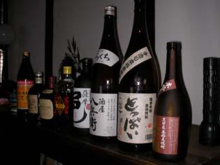 焼酎、日本酒、ウィスキー・・・なんでもアリです!