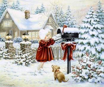 Dear Santa By Heaven And Earth Designs Cross Stitch Kits