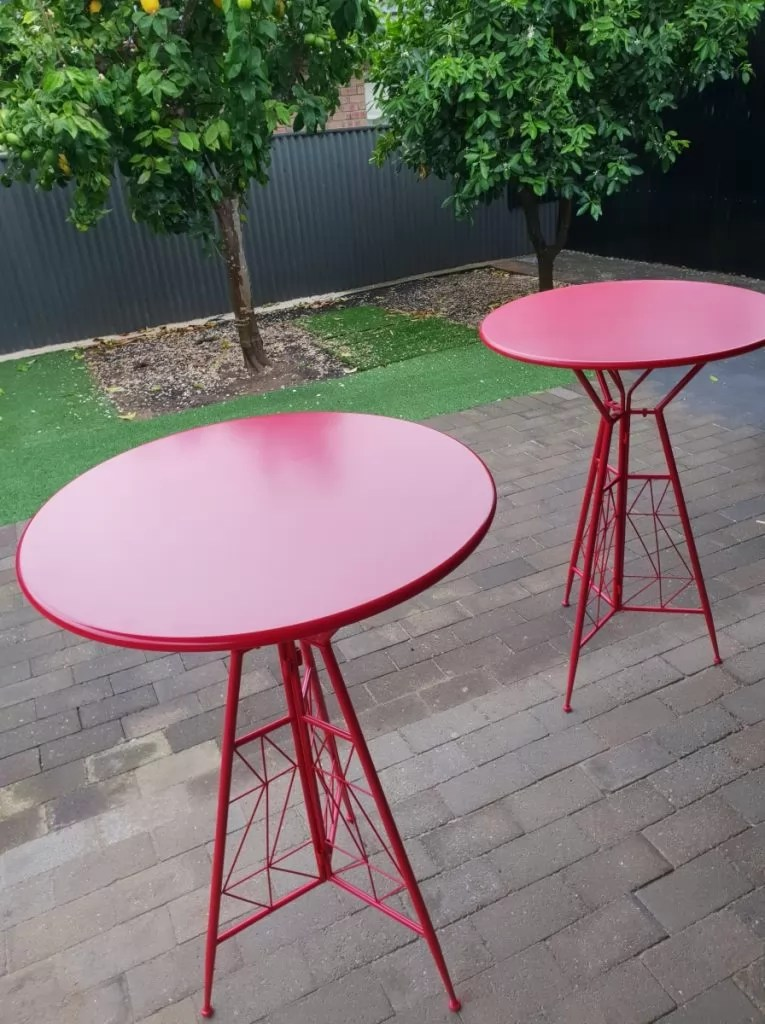Bar Table Hire Adelaide