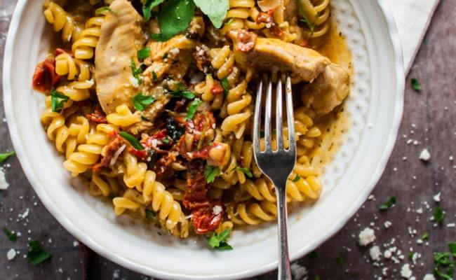 One Pot Cajun Chicken Pasta Salt Lavender
