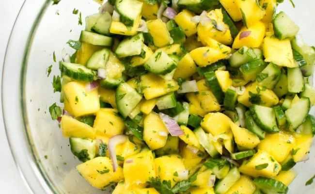 Mango Lime Salsa Salt Lavender