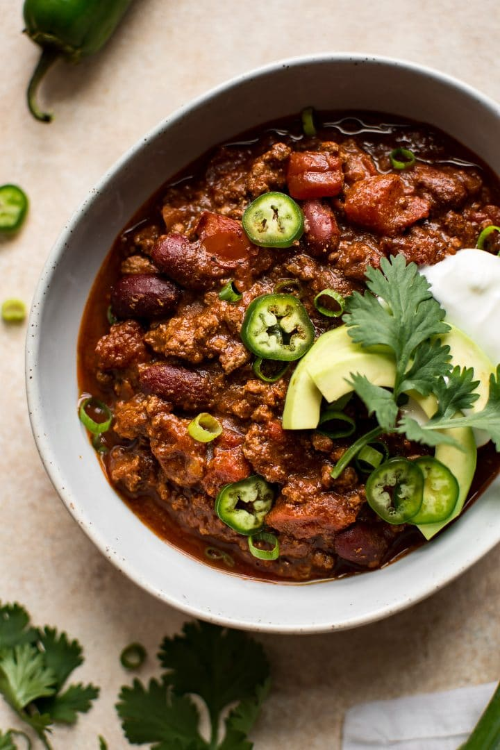 quick chili recipe salt