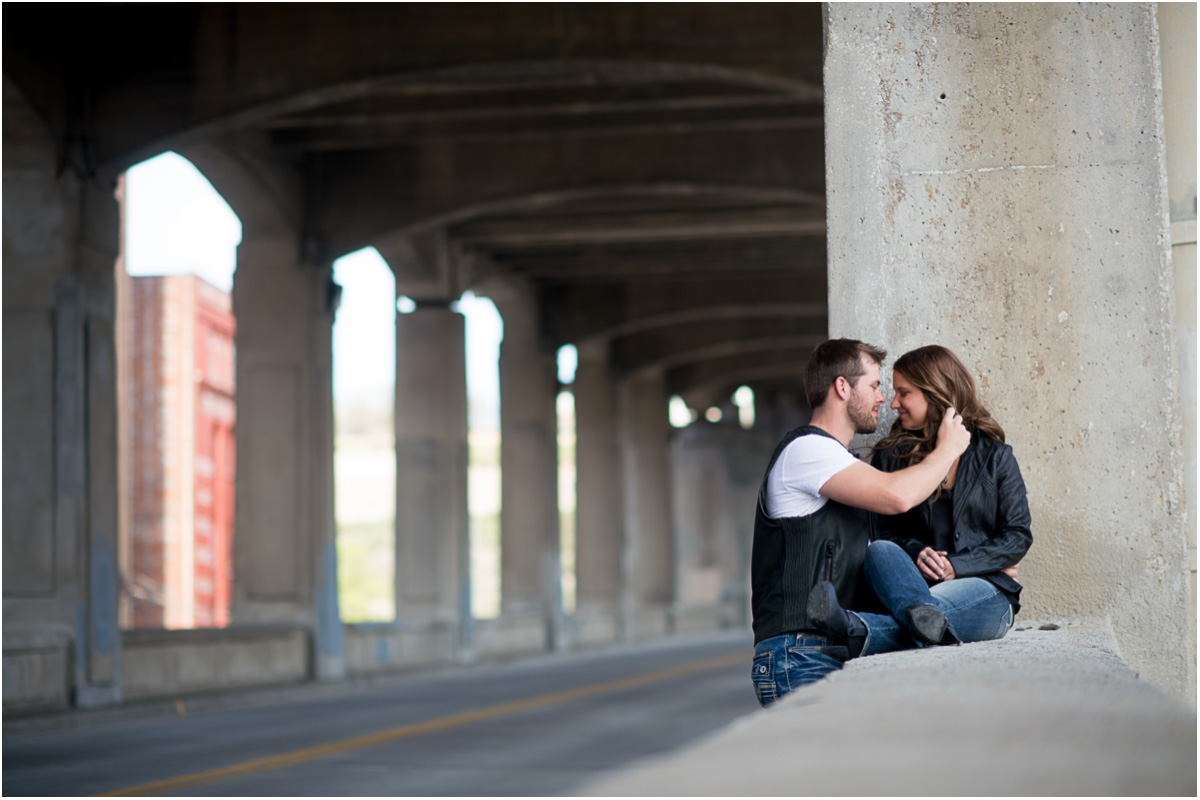 West Bottoms Kansas City Engagement Session  Kansas City