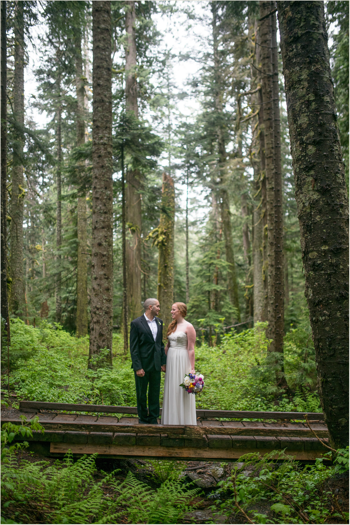 Silver Fur Lodge Wedding  Seattle Wedding Photographers