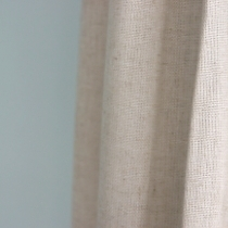 DIY Lined Linen Curtains