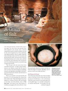 S.A.L.T. Chamber News
