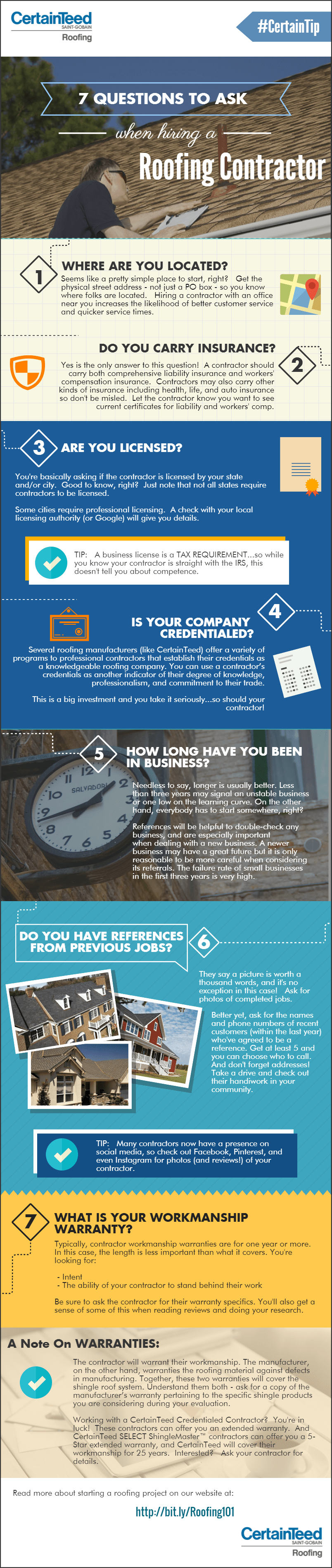 INFOGRAPHIC – 7 QUESTIONS TO ASK WHEN HIRING A UTAH ROOFING CONTRACTOR