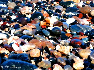 Poltesco pebbles