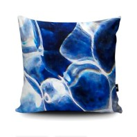 Cushion featuring Cornish ripples I