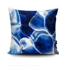Cushion featuring Cornish ripples I