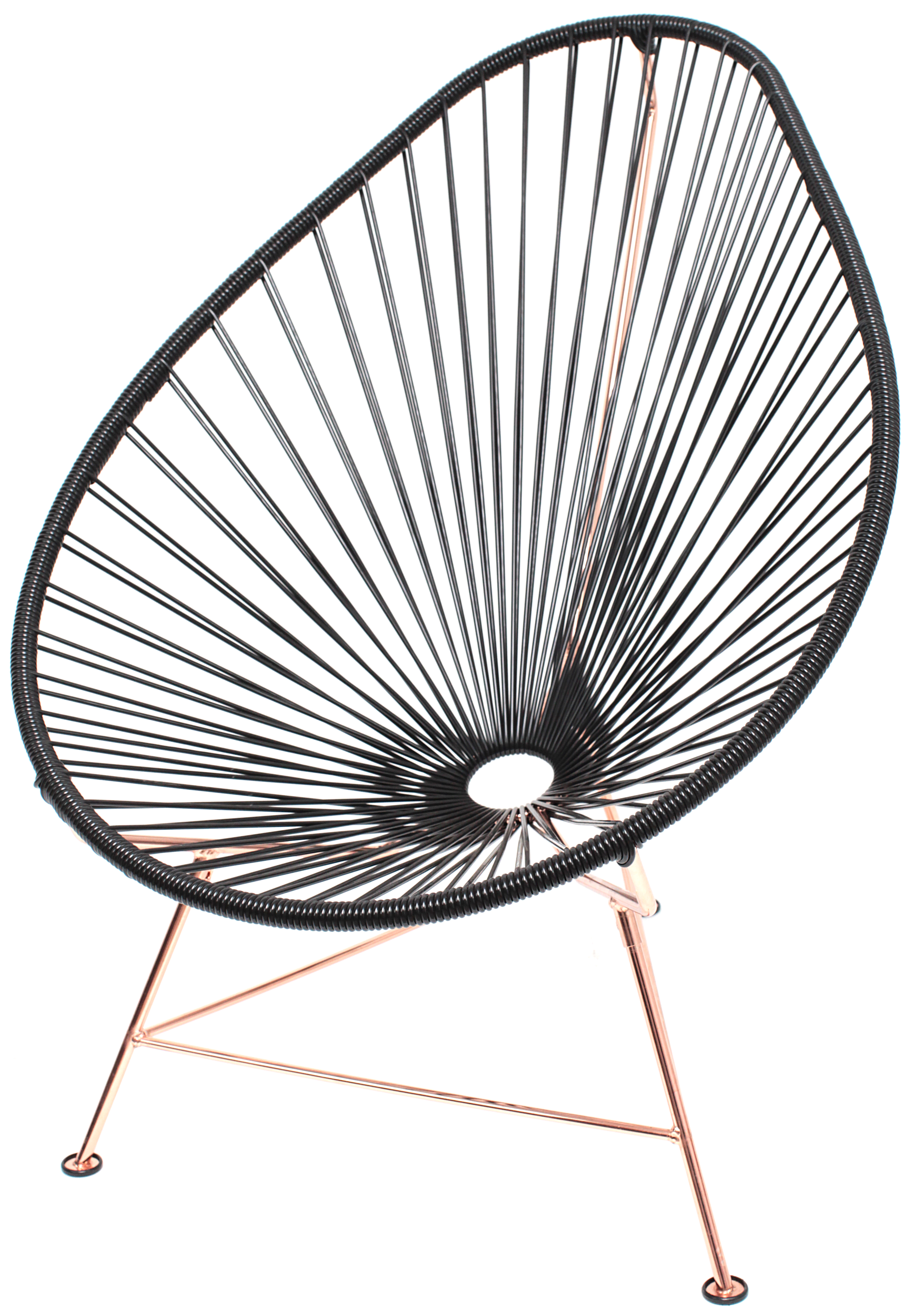 Acapulco Chair Black and Copper  Innit Designs