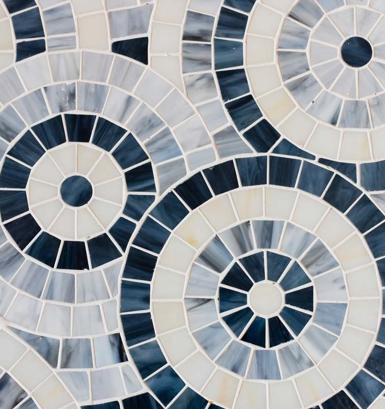 Mother of PearlStained Glass  Toronto Tiles  Saltillo