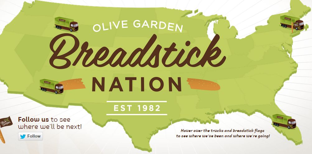 Beautiful Try Olive Gardenu0027s New Breadstick Sandwiches For FREE All Week In Salt Lake  At Multiple Events. See The Schedule Below On Where You Can Get Your  Breadstick ...
