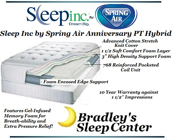 With Spring Air Sleep Inc The Anniversary Is A Great Low Cost Option For Agers Or S Needing Few Good Years Of Without Killing Your