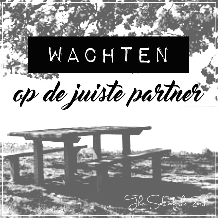Wachten op de juiste partner