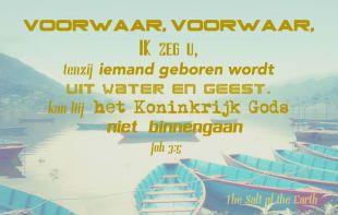het Koninkrijk van God binnengaan