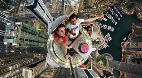 Selfies en los rascacielos, una de las modas más peligrosas y comunes.