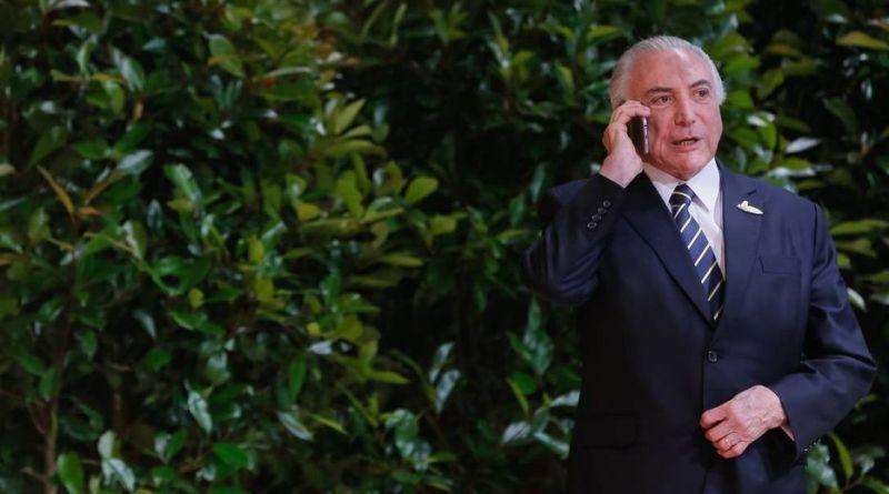 ARRESTAN AL EXPRESIDENTE BRASILEÑO MICHEL TEMER EN CASO VINCULADO A LAVA JATO