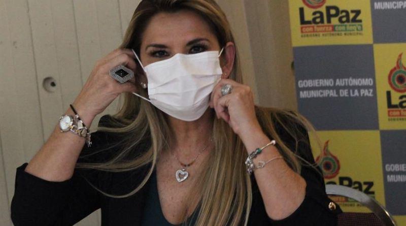 JEANINE ÁÑEZ, PRESIDENTA INTERINA DE BOLIVIA, CONFIRMÓ QUE TIENE CORONAVIRUS