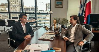 """ANDRÉS LIMA Y LACALLE DIALOGARON SOBRE PROYECTO EN SALTO QUE """"VA A GENERAR 13.500 PUESTOS"""""""
