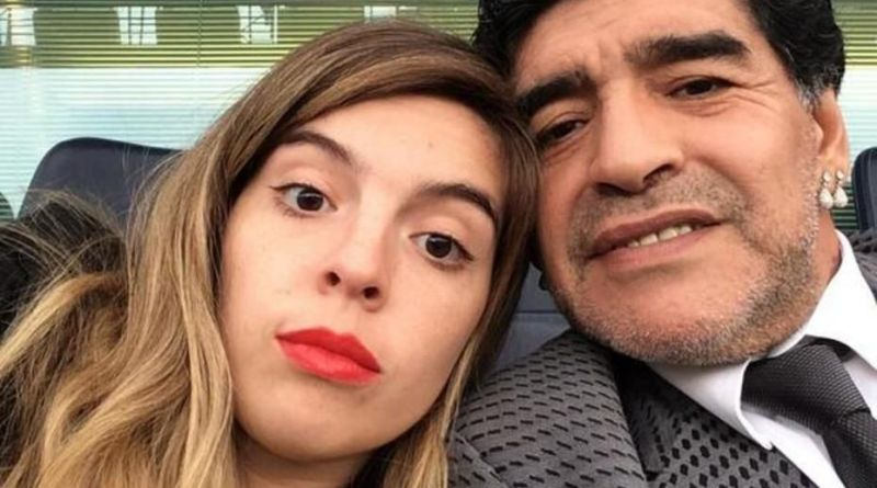 """EL MENSAJE DE DALMA MARADONA: """"TE VOY A AMAR Y DEFENDER TODA MI VIDA"""""""