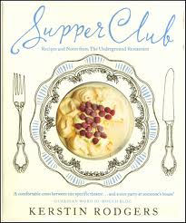 Supper Club by Kerstin Rodgers