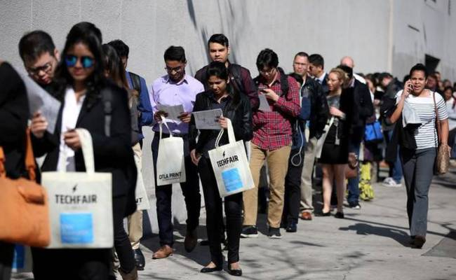 U S Jobless Claims Surge To Highest Since September 2017