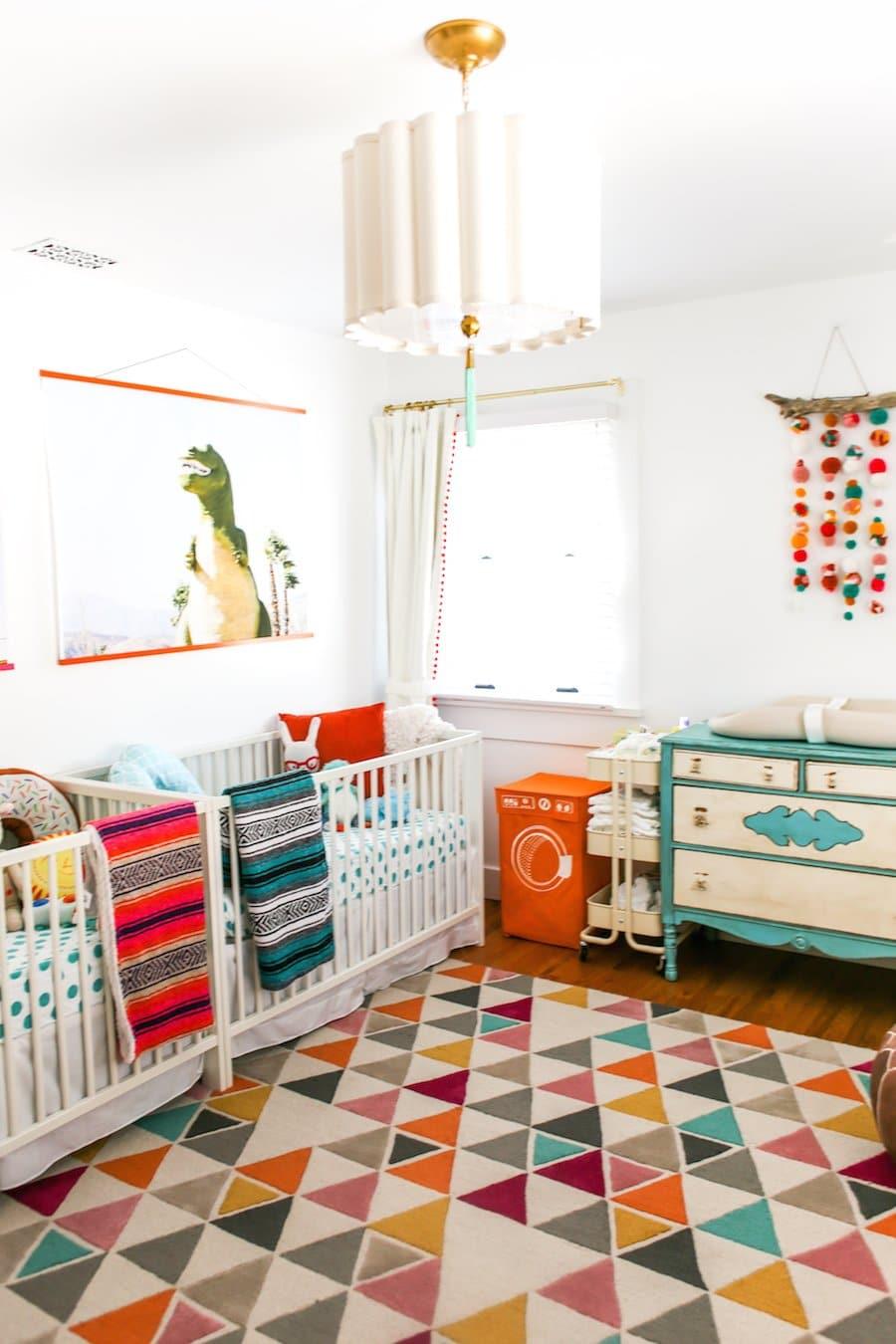 Colorful Twin Nursery