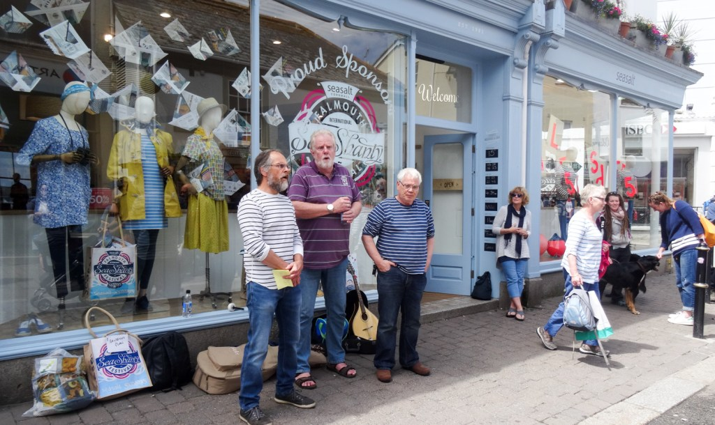 Best Cornish Events of 2018 Seasalt street performers