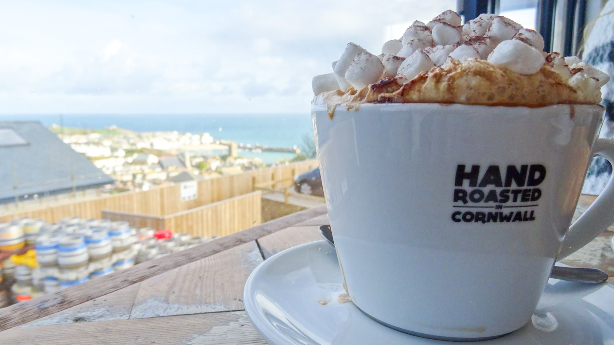 best hot chocolates in cornwall st ives brewhouse cafe hot chocolate cornwall