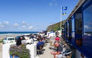 blue bar porthtowan brunch